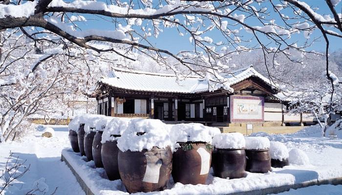 du lịch Hàn Quốc - làng cổ Bukchon Hanok