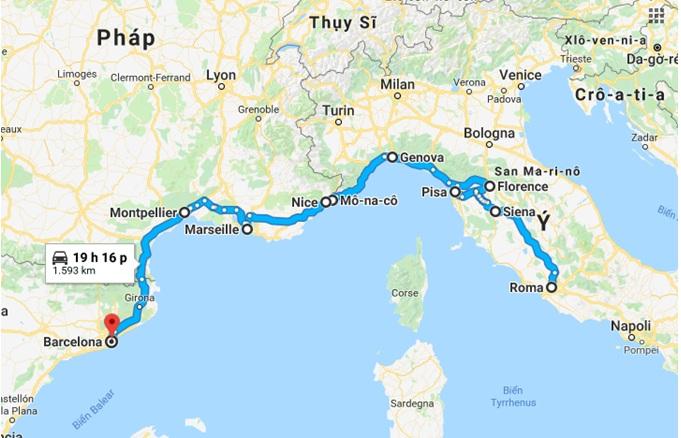 Tour du lịch Nam Âu 1